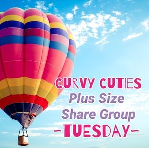Tops - 6/25 (CLOSED) PLUS SHARE GROUP: Curvy Cuties